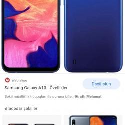 Samsung A10 satiram az iwlenib karobkasi adaptoru