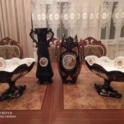 Madonna meyvə qabları və güldanlar satılır hamısı birlikdə!