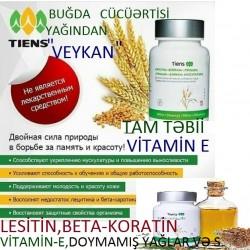 """""""Veykan""""-E və Digər Vitaminlər,Lesitin,Betta-Koratin,Buğda"""