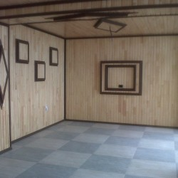 Mansart Sauna pillekan ve pol parketin en son usullarla
