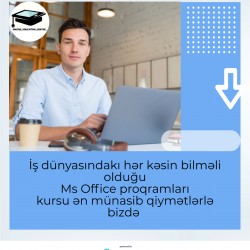 "Online Education Center ""Ms Office proqramları kurs""una"