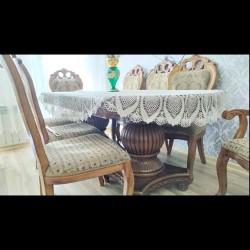 Malaziyanin destidir stol ve 8 stulu 750 azn unvan Nesimi