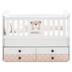 Uşaq çarpayısı Belis Teddy Ortopedik Yaylı uşaq Yatağı.