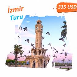 İzmir Turu 4gecə/5 gün Qiymət: 335$ Qiymətə daxildir: