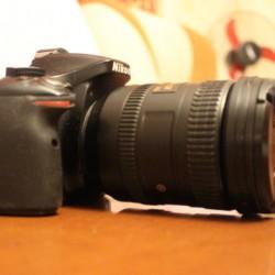 İKİ il öncə almışdım foto aparatı. Foto aparat Nikkon D5200