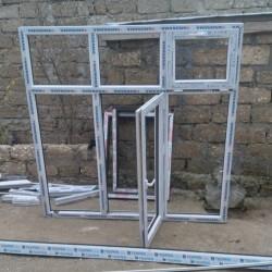 Plastik pəncərə ölçü 180x180 təzədir. Qiymət 150 azn. Ünvan