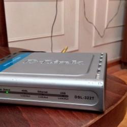 Dlink modem(Wifi dəstəkləmir) Ethernet qoşulma üçündür