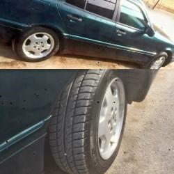 15lik Mercedes disk təkər 1 həftədi alınıb. Problemi