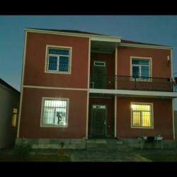Savxoz Ramanıda 2mertebeli heyet evi satilir.Evin 1ci
