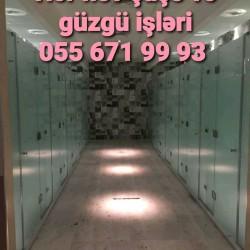 Hər növ şüşə və güzgü işləri: faset,qumlama, əyilmə,