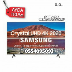 Samsung smart televizoru(127 ekran - 50 dyüm). İlkin