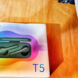 Yeni, açılmamış qutusunda original QCY T5 bluetooth
