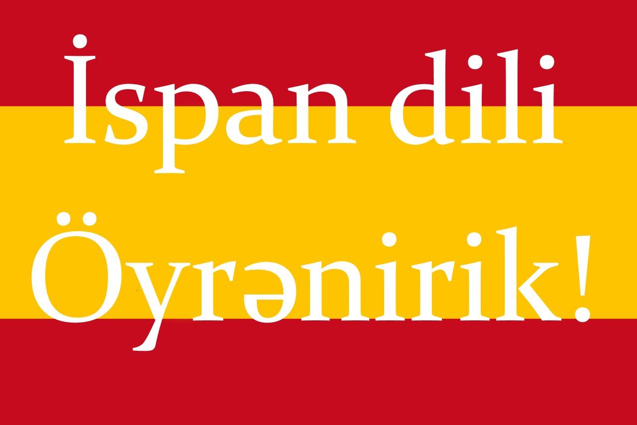 Zinyət Tədris Mərkəzində Bütün Xarici dillər kimi İspan