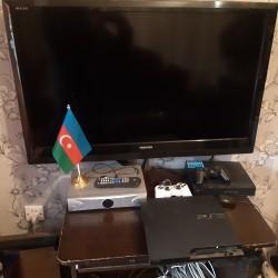 1 əd TOSHİBA 109 ekran televizor. 1əd PS-3 SONY içində 42