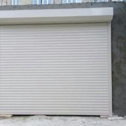 Автоматические двери-жалюз состоят из алюминиевых профилей