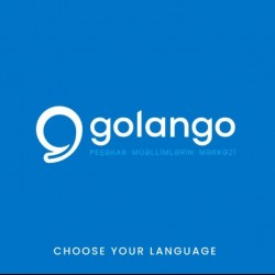 Golangoya xoş gəlmisiniz! ✨ Ingilis dili üzrə tədris