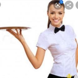Restorana Ofisant,18-30 yaş arası xanım tələb olunur.