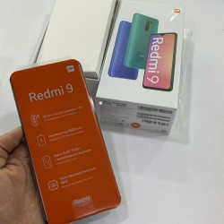 Xiaomi Redmi 9 (4/64 gb) Grey İlkin Ödəniş 40 AZN 12 Aya