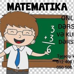Kursda və online riyaziyyat ( математика) hazırlığı Bütün