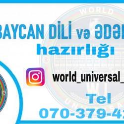 World Universal Tədris Mərkəzi Sizi mükəmməl səviyyədə