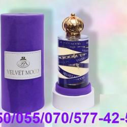 Velvet Mood Eau De Parfum Natural Sprey for Unisex by Paris