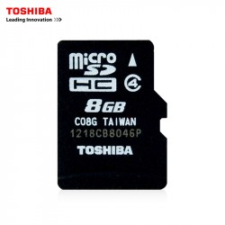 Yeni orijinal 8Gb Micro yaddaş kartı Toshiba