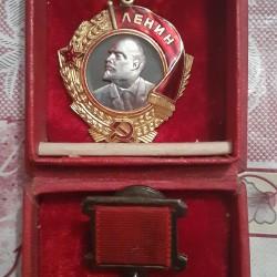 Lenin ordeni və Sosyalis emek qehramani ordeni