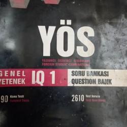 YÖS Metropol yayınları Genel yetenek IQ 1 (Mentiq 1)