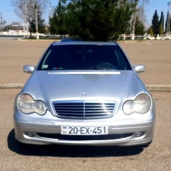 Mercedes 203 il 2001,mühərrik 2,yürüş 343000