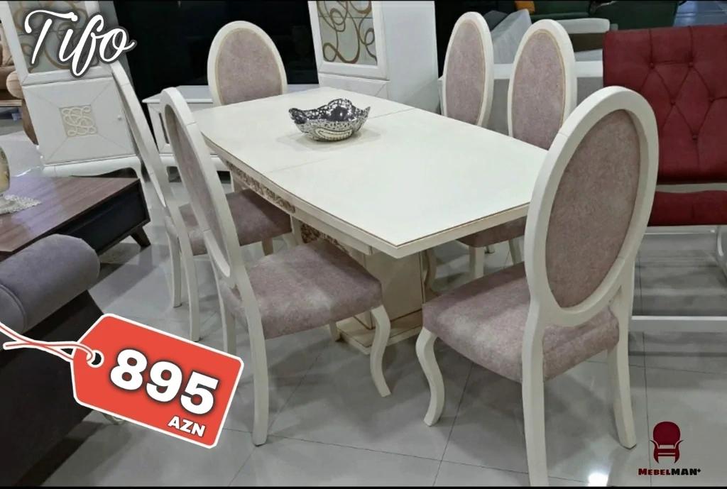 Masanın ölçüləri: 90*160(böyüyəndə 90*200) Materialı: Masa