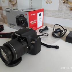 Canon 4000D fotoaparatı satılır. Keçən il alınıb, çox az