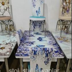 Evinize ve zovqunuze uygun masa ve oturacaqlar (stol