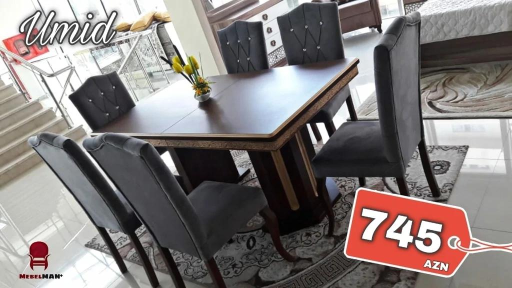 Masanın ölçüləri: 90*160 (böyüyəndə 90*200) Materialı: Masa