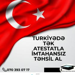 Türkiyənin Dövlət Universiteti Olan ATATÜRK Universitetində