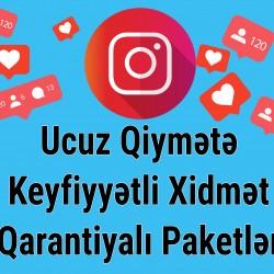 🚩 İnstagram Takipçi paketləri - 1) 1k - 60 qəpik , 10k - 5