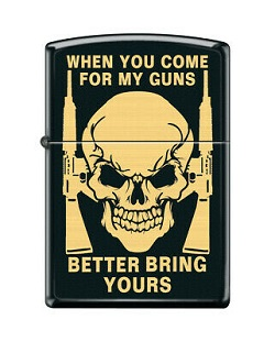 Orijinal Zippo (Gun). Qutu + Zəmanət talonu + Plomb Rəng -