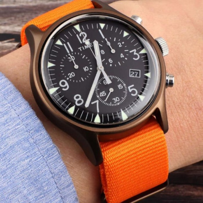 Yeni orijinal Timex Chronograph Mexanizm - kvars Stil -