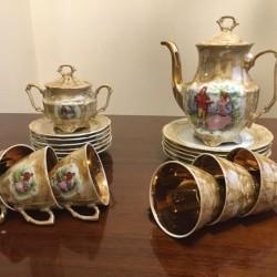 Çay dəsti satılırPolşa istehsalı 6 nəfərlik Çay dəsti