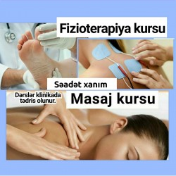 Masaj, Fizioterapiya kurslarına daxildir: Masaj kursu 6