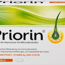 Priorin, xüsusi mikroelementlər kompleksi ilə saç