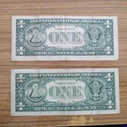 2 dənə 1 dollar. Birincisi 1995, ikincisi 2003 ildir. Yaxşı