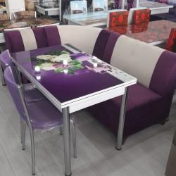 Türkiyə istehsalı🪑 Kuxna üçün stol stul desdi🪑künc divanla