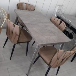 Türkiyə istehsalı🪑 Kuxna üçün stol stul desdi🪑 Anbarda