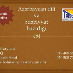 Azərbaycan dili və ədəbiyyat hazırlığı MİQ Abituriyent
