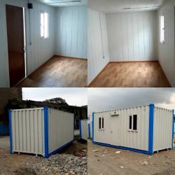 Təmirli vaqon ofislər ölçü 12x2.40x2.60. Qiymət 6200 azn.