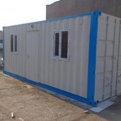 6 metrelik ofis konteyneri. Konteyner,ofis konteyneri,