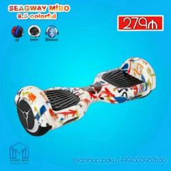 Seagway MİBO 6.5 colorful 🔴 Avtobalans 🔴 Bluetooth 🔴Max.