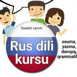 Rus dili kursları - Sıfırdan başlayanlar üçün peşəkar kurs.