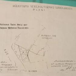 Mingəçevir şəhəri Kür çayı sahilinde 12(6+6) sot torpaq