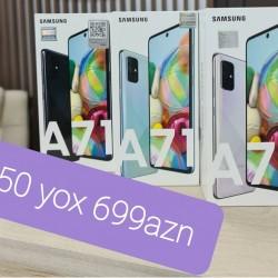 Sok sok sok!!! ENDIRIM!!! Samsung a 71 6 ram/128gb 750 YOX